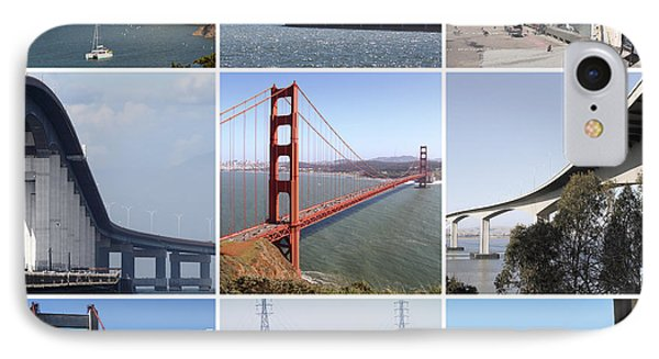 Majestic Bridges Of The San Francisco Bay Area IPhone Case