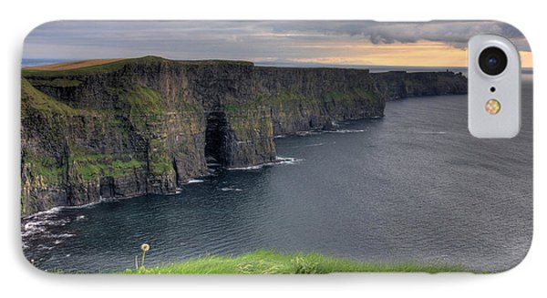 Majestic Cliffs Of Moher Co. Clare Ireland IPhone Case by Pierre Leclerc Photography