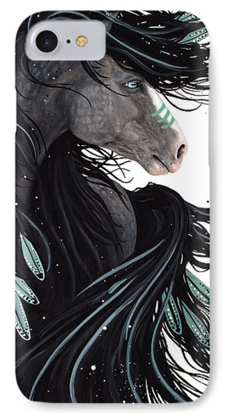Majestic Dream Horse #138 IPhone Case by AmyLyn Bihrle
