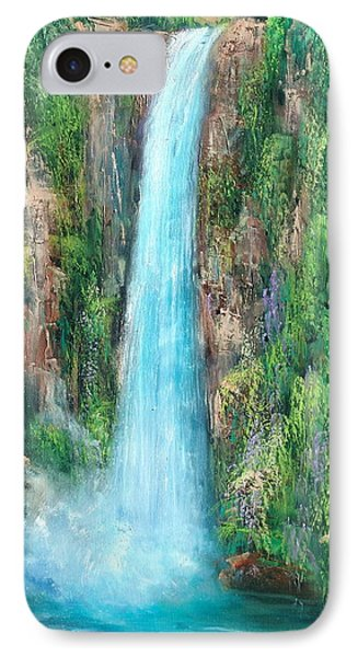 Majestic Falls Phone Case by Sally Seago
