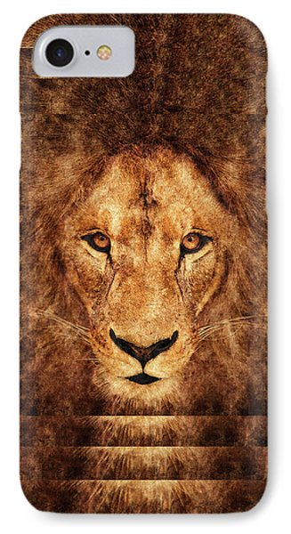 Majestic Lion IPhone Case by Anton Kalinichev