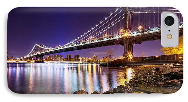 Majestic Manhattan IPhone Case by Az Jackson