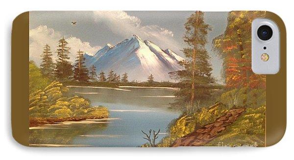 Majestic Mountain Lake Phone Case by Tim Blankenship