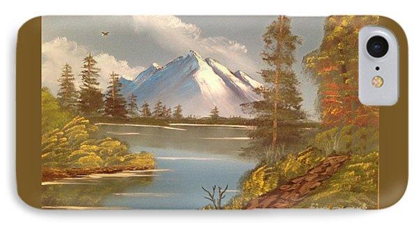 Majestic Mountain Lake IPhone Case by Tim Blankenship