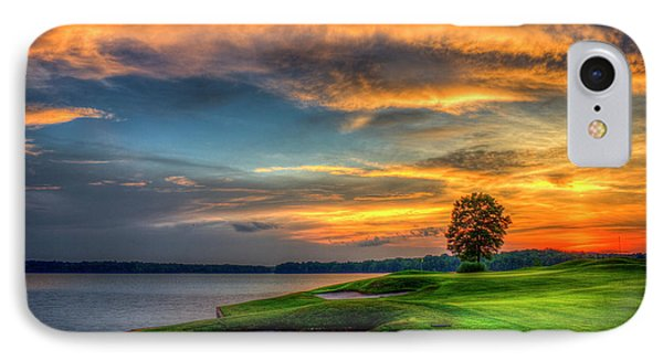 IPhone Case featuring the photograph Majestic Number 4 The Landing Reynolds Plantation Art by Reid Callaway