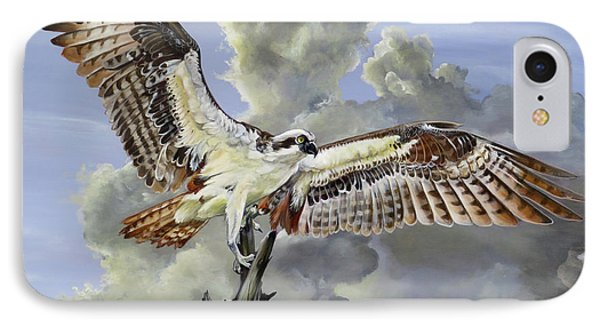 Majestic Sea Hawk IPhone Case