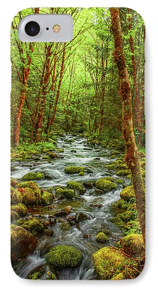 Majestic Stream IPhone Case by Tyra  OBryant