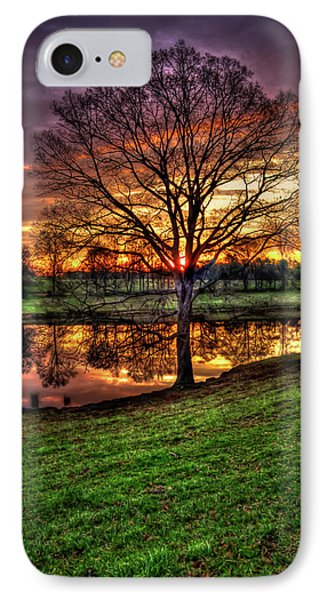 IPhone Case featuring the photograph Majestic Sunrise Reflections by Reid Callaway