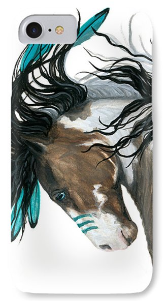 Majestic Turquoise Horse IPhone 7 Case by AmyLyn Bihrle