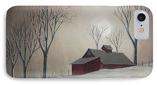 Majestic Winter Night Phone Case by Charlotte Blanchard