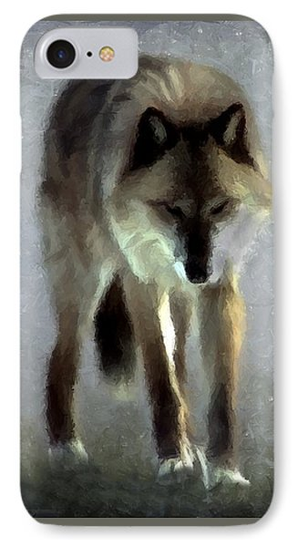 IPhone Case featuring the photograph Majestic Wolf by David Dehner