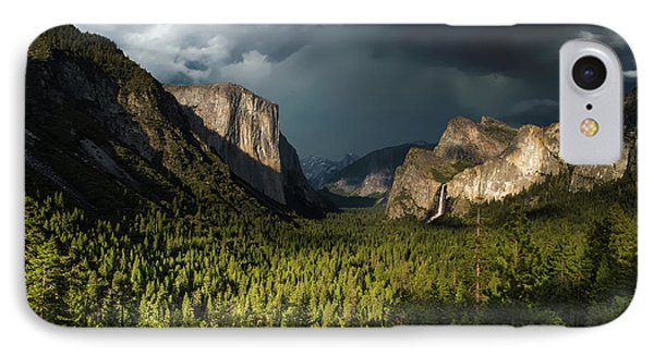Majestic Yosemite National Park IPhone Case by Larry Marshall