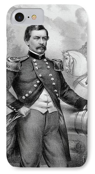 Major General George B Mcclellan IPhone Case