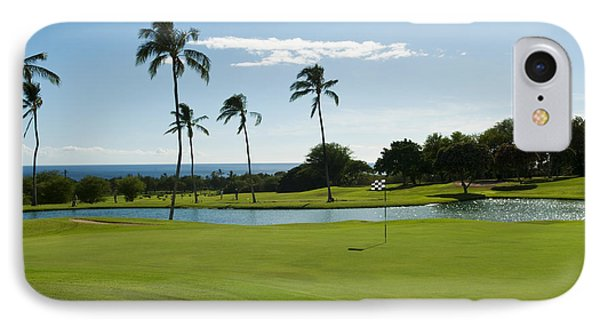 Makaha Golf Course Phone Case by Bill Bachmann - Printscapes