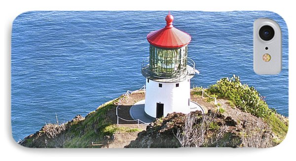 Makapuu Lighthouse 1065 Phone Case by Michael Peychich