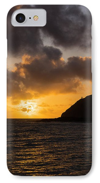Makapuu Point Lighthouse Sunrise Phone Case by Brian Harig