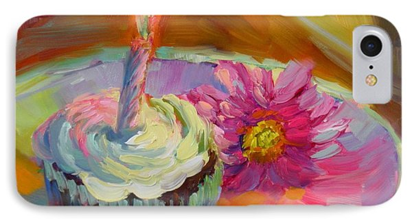 IPhone Case featuring the painting Make A Wish by Chris Brandley