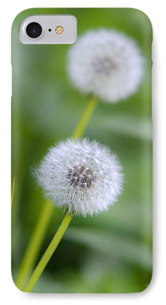 Make A Wish Dandelion Phone Case by Christina Rollo