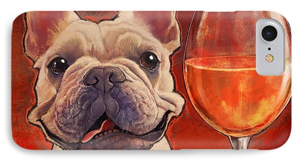 Make Time For Wine IPhone Case by Sean ODaniels