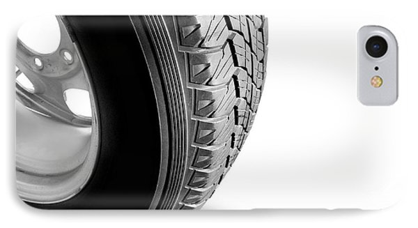 Make Tyre Tracks IPhone Case by Jorgo Photography - Wall Art Gallery