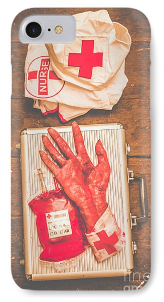 Make Your Own Frankenstein Medical Kit  IPhone Case