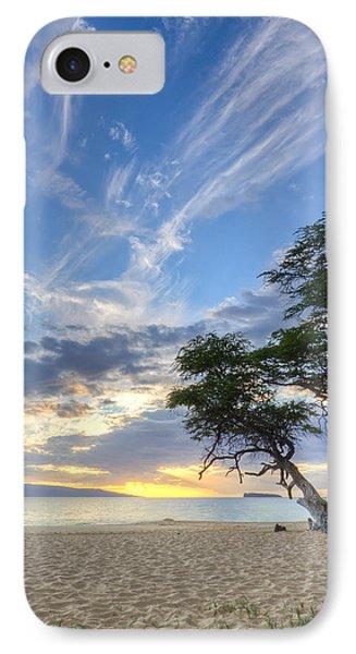 Makena Beach Maui Hawaii Sunset 2 IPhone Case by Dustin K Ryan