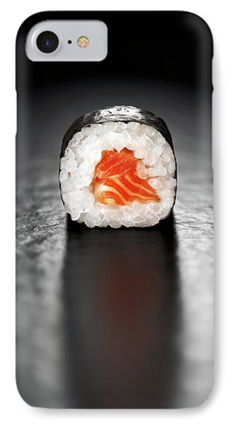 Salmon iPhone 7 Case - Maki Sushi Roll With Salmon by Johan Swanepoel