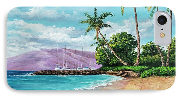 IPhone Case featuring the painting Makila Beach by Darice Machel McGuire