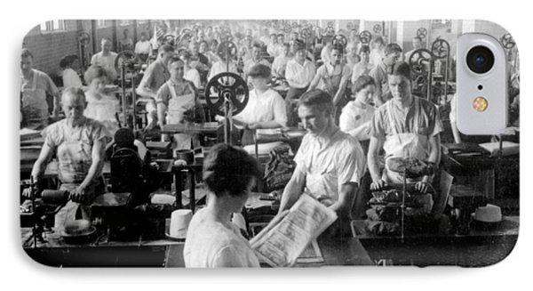 Making Money At The Bureau Of Printing And Engraving - Washington Dc - C 1916 IPhone 7 Case