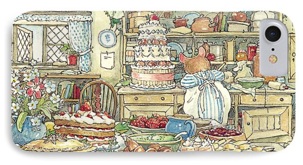 Making The Wedding Cake IPhone Case by Brambly Hedge
