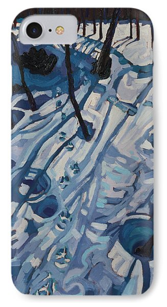 Making Tracks Phone Case by Phil Chadwick