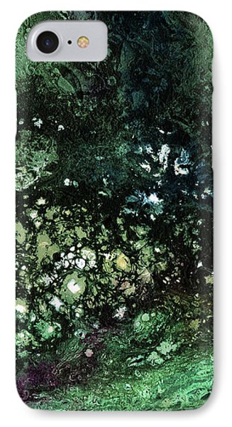 Malachite- Abstract Art By Linda Woods IPhone Case