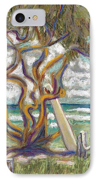 Malaekahana Tree Phone Case by Patti Bruce - Printscapes