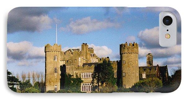 Malahide Castle IPhone Case by Martina Fagan