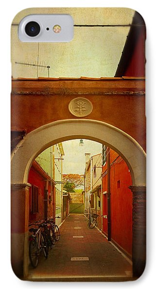 Malamocco Arch No1 IPhone Case by Anne Kotan
