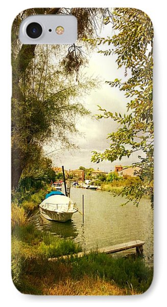 IPhone Case featuring the photograph Malamocco Canal No1 by Anne Kotan