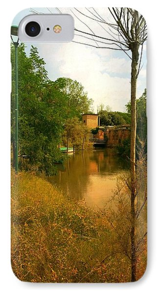 IPhone Case featuring the photograph Malamocco Canal No2 by Anne Kotan