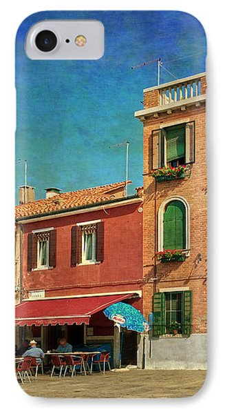 IPhone Case featuring the photograph Malamocco Corner No3 by Anne Kotan