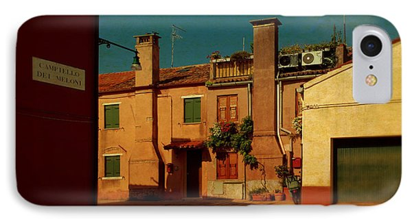 IPhone Case featuring the photograph Malamocco House No2 by Anne Kotan