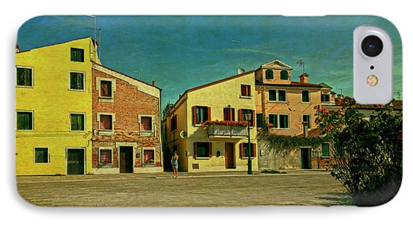 IPhone Case featuring the photograph Malamocco Main Street No1 by Anne Kotan