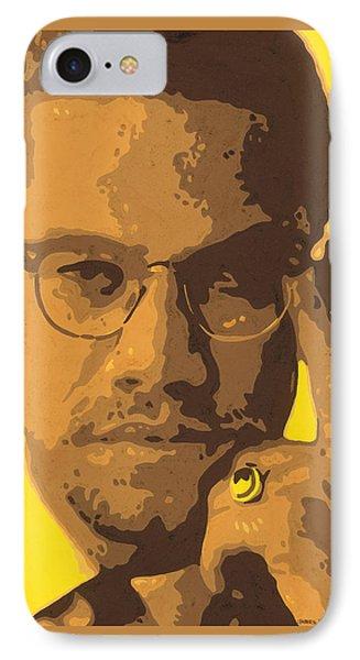 Malcolm El Afroxicano Phone Case by Roberto Valdes Sanchez