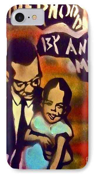 Malcolm X Fatherhood 2 Phone Case by Tony B Conscious