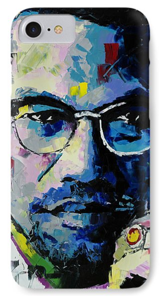 Malcolm X IPhone Case by Richard Day