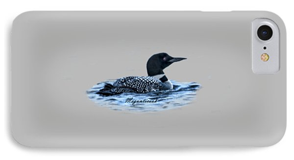 Male Mating Common Loon IPhone Case by Daniel Hebard