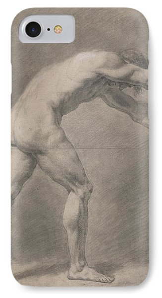 Male Nude  IPhone Case by John Constable