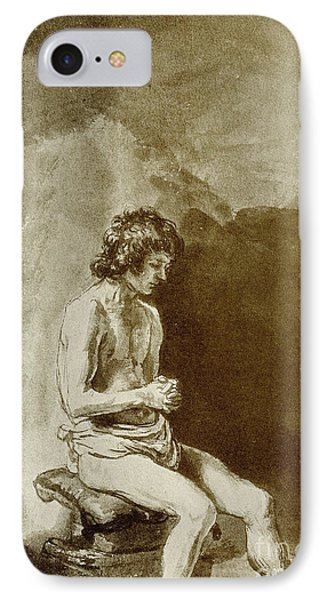 Male Nude IPhone Case by Rembrandt Harmensz van Rijn