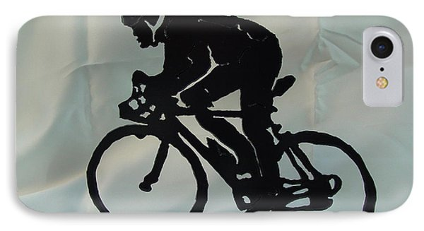 Male Road Racer Phone Case by Steve Mudge