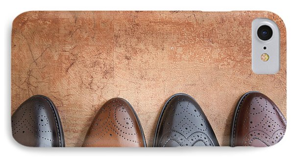 IPhone Case featuring the photograph Male Shoes by Andrey  Godyaykin