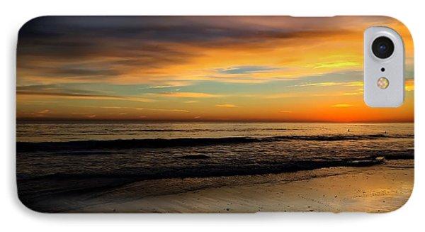 Malibu Beach Sunset IPhone Case