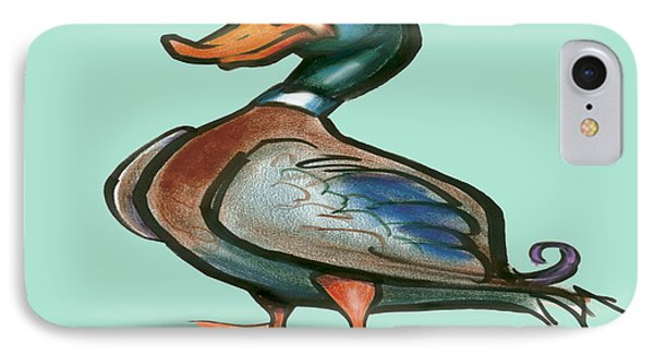 Mallard Duck Phone Case by Kevin Middleton